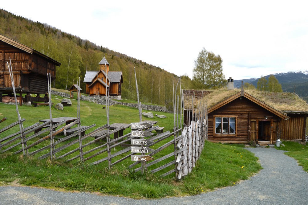 Nore and Uvdal historical farmstead